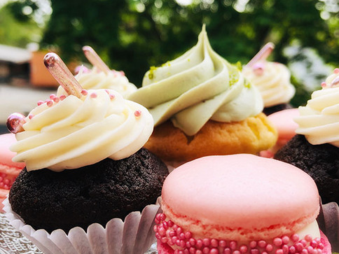 cupcakes & maccarons