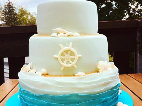 Maritime Torte Fondant