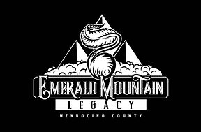 Emerald Mountain Logo with Black Backgro