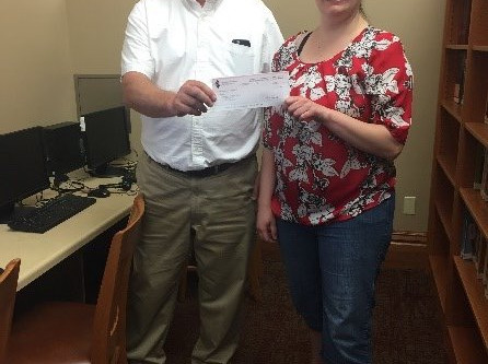 SUMNERS INSURANCE AGENCY AND THE IMT GROUP AWARDS $500 TO THE CLARION PUBLIC LIBRARY CODING CLUB