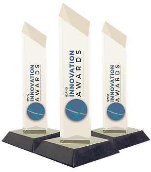 Innovation AWards Trophies
