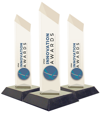 Utah Innovation Awards Trophies