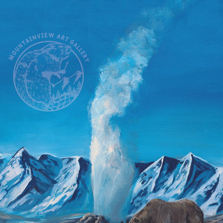 Grizzly and the Geyser