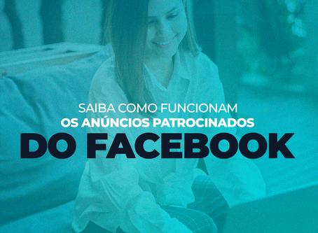 Saiba como funcionam os anúncios patrocinados do facebook