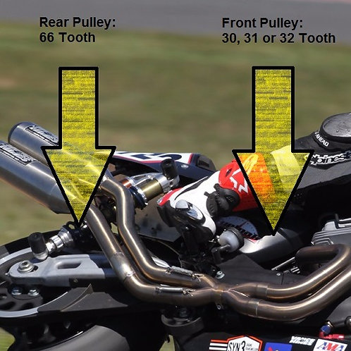 XR1200: Front & Rear Pulley Kits