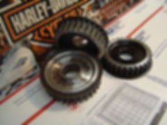 Sportster Front Pulleys