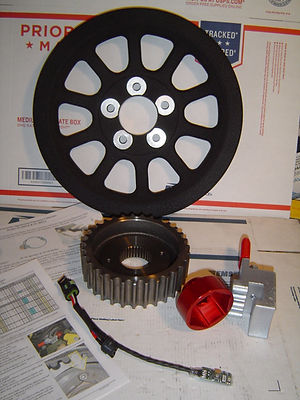 Sportster Front Pulley