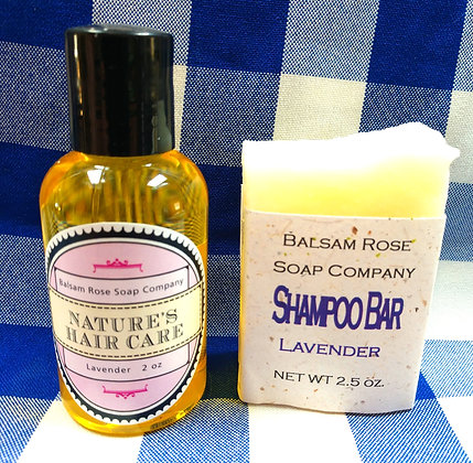 Hair Care Set, Lavender