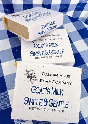 Simple. Gentle. Goat's Milk.