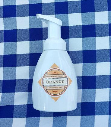 Orange Liquid Foaming Soap
