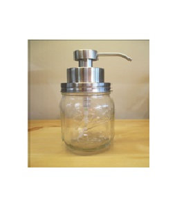 Stainless Steel Foaming Pump Top for Mason Jar