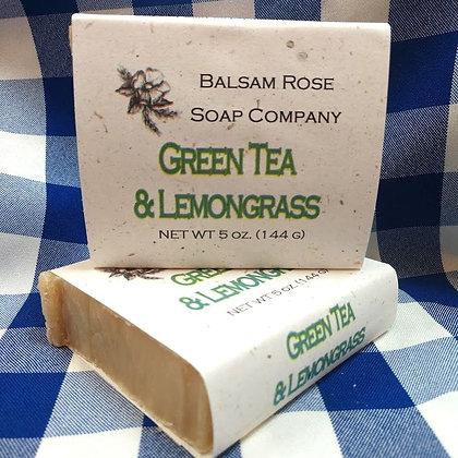 Green Tea & Lemongrass