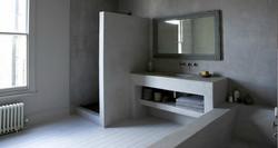 baño en micro gris estepa