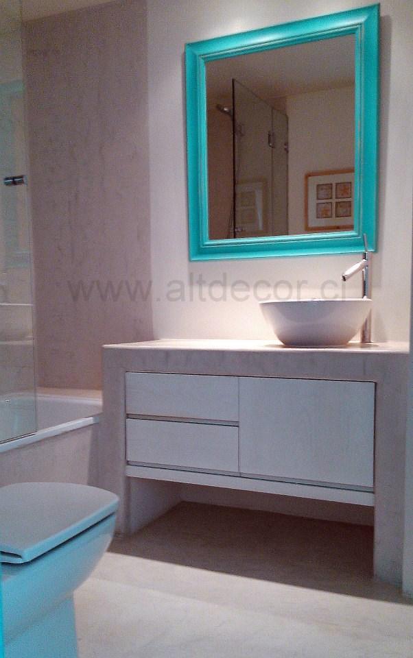 baño microcemento Las Tacas