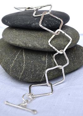 Squares bracelet