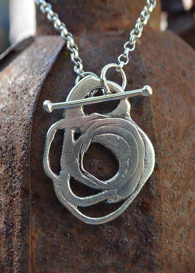 Fused 6 necklace