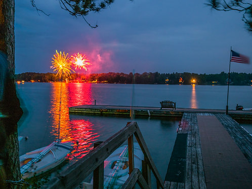 [Walden] Sailing Dock On 4th Of July