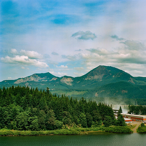 [Oregon on Film] Some Building Photobombing A Landscape