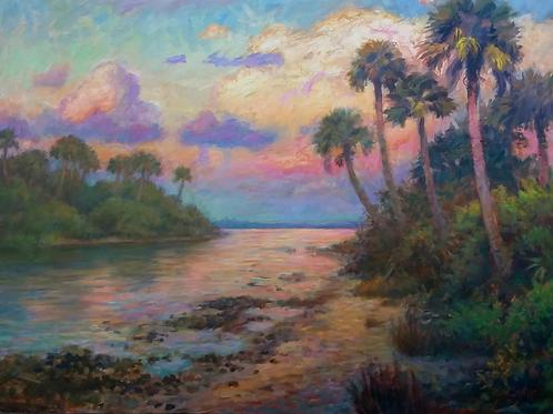 Mosquito Lagoon Sunset