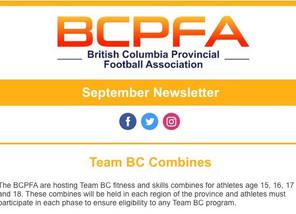 BCPFA September Newsletter