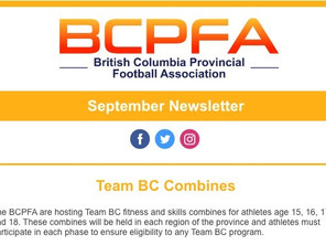 BCPFA September Newsletter