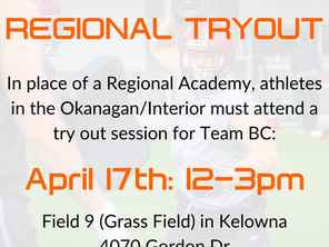 Interior Regional Try Out