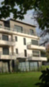 construction d'un immeuble à Ris-Orangisz