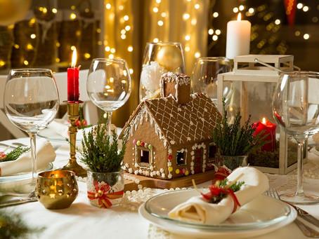 Masa de Crăciun, în familia parohiei