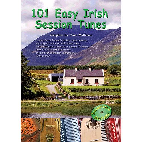 101 Easy Irish Session Tunes Book - Dave Mallinson
