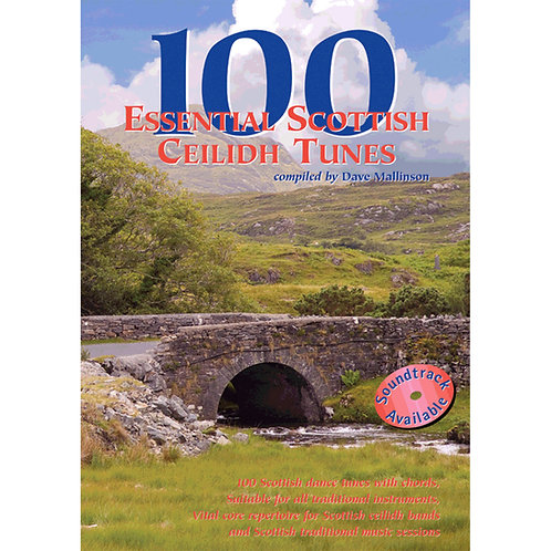 100 Essential Scottish Ceilidh Tunes Book - Dave Mallinson