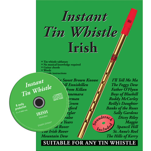 Instant Tin Whistle Irish CD Edition - Dave Mallinson