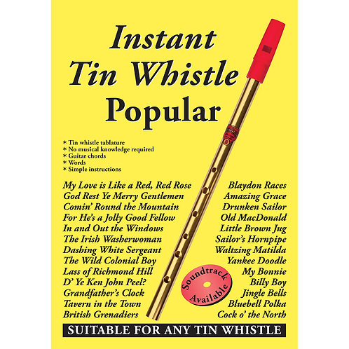 Instant Tin Whistle Popular Book - Dave Mallinson