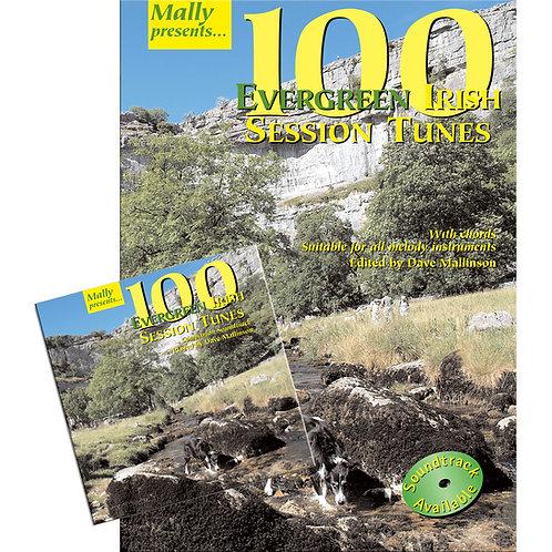 100 Evergreen Irish Session Tunes Book and CD - Dave Mallinson