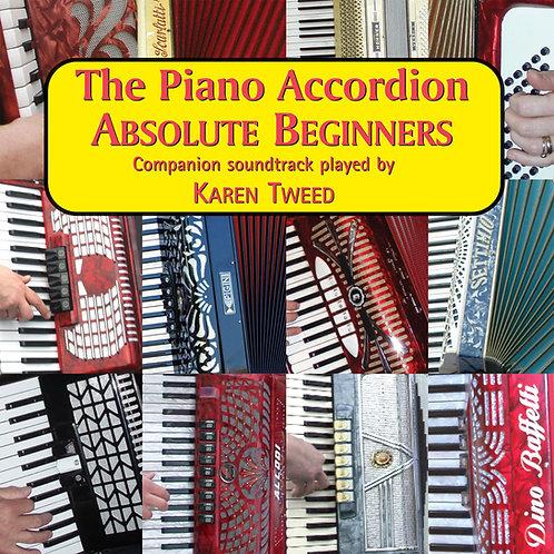 The Piano Accordion Absolute Beginners CD - Karen Tweed