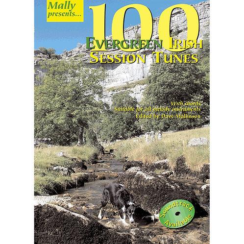 100 Evergreen Irish Session Tunes Book - Dave Mallinson