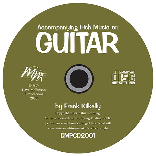 Accompanying Irish Music on Guitar CD - Frank Kilkelly