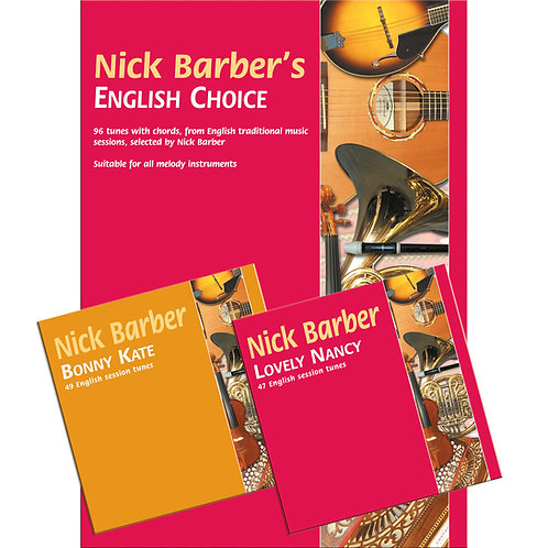 Nick Barber's English Choice Book and 2 CDs - Nick Barber