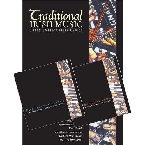Karen Tweed's Irish Choice Book and 2 CDs - Karen Tweed