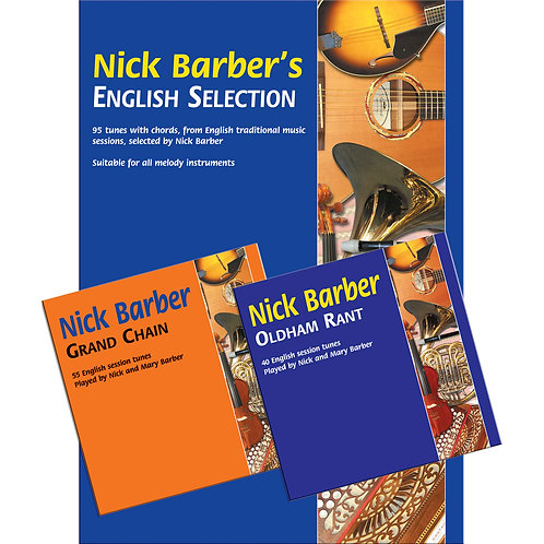 Nick Barber's English Selection Book and 2 CDs - Nick Barber
