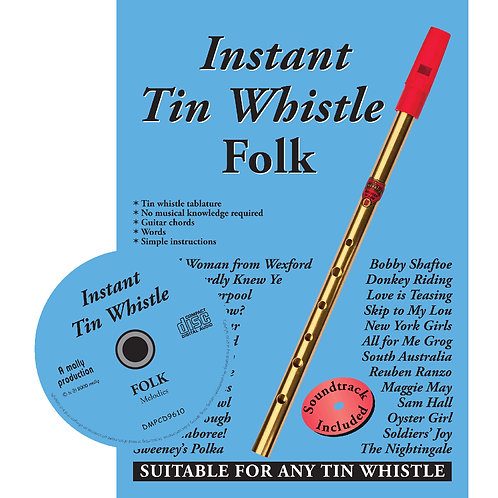 Instant Tin Whistle Folk CD Edition - Dave Mallinson
