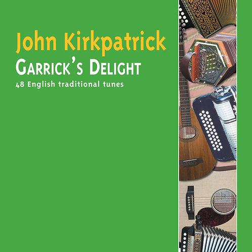 Garrick's Delight CD