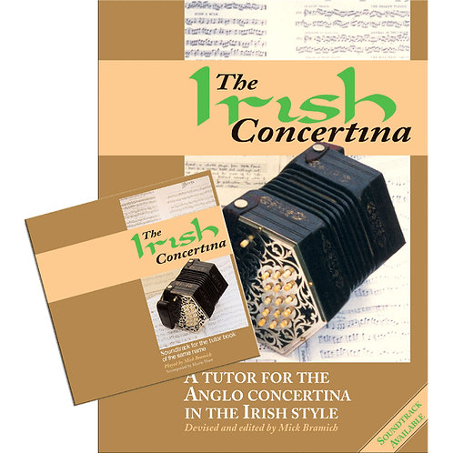 The Irish Concertina Book and CD - Mick Bramich