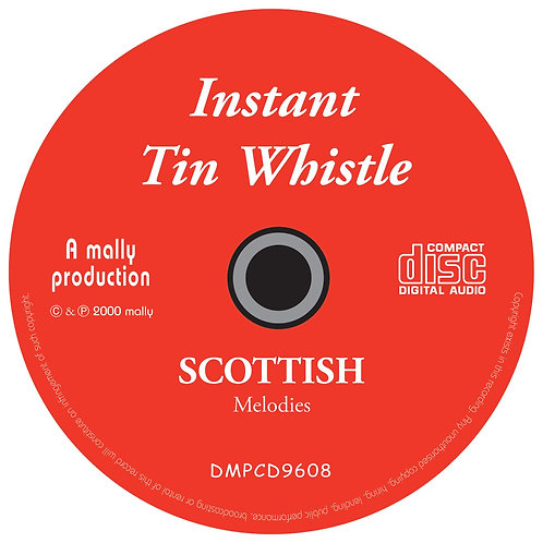 Instant Tin Whistle Scottish CD
