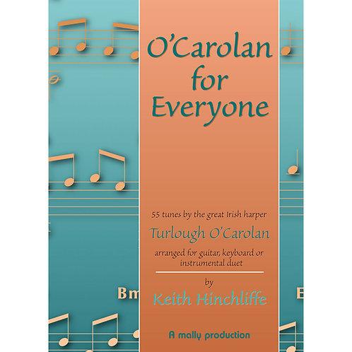 O'Carolan for Everyone Book - Keith Hinchliffe