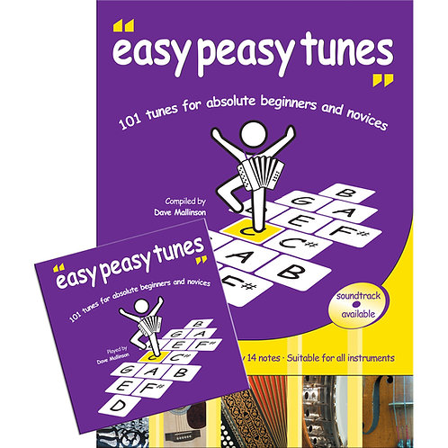 Easy Peasy Tunes Book and CD - Dave Mallinson