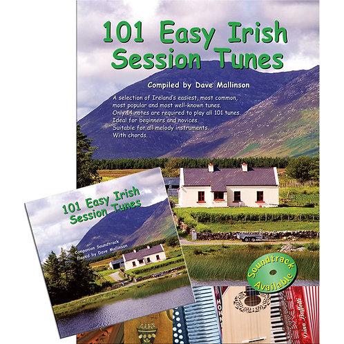 101 Easy Irish Session Tunes Book and CD - Dave Mallinson