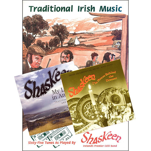 The Crossroads Dance Book and 2 CDs - The Shaskeen