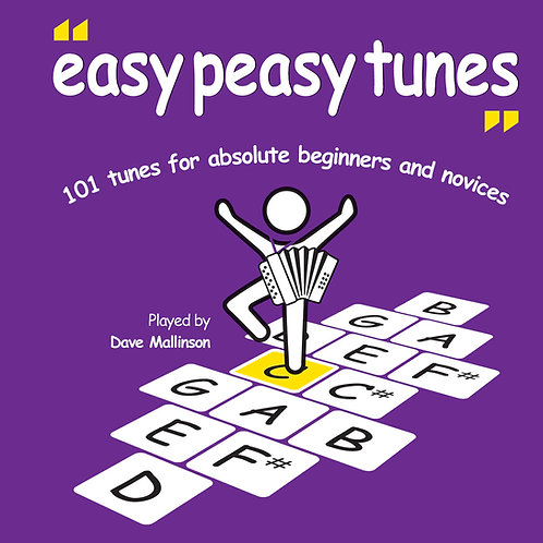 Easy Peasy Tunes CD - Dave Mallinson