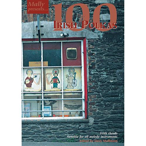 100 Irish Polkas Book - Dave Mallinson