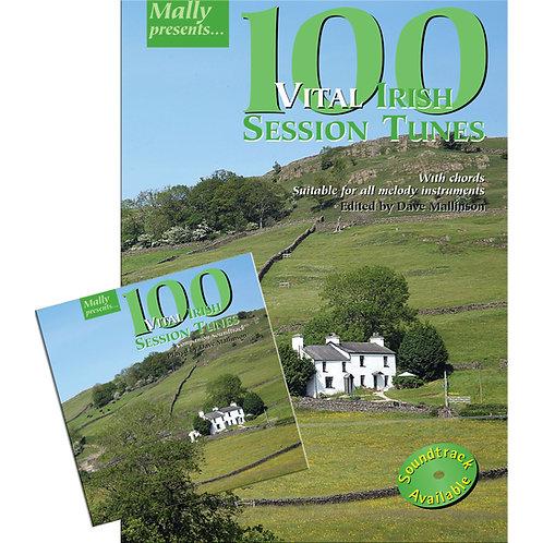 100 Vital Irish Session Tunes Book and CD - Dave Mallinson